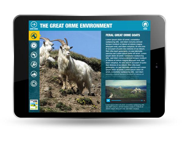 Green Links iPad app