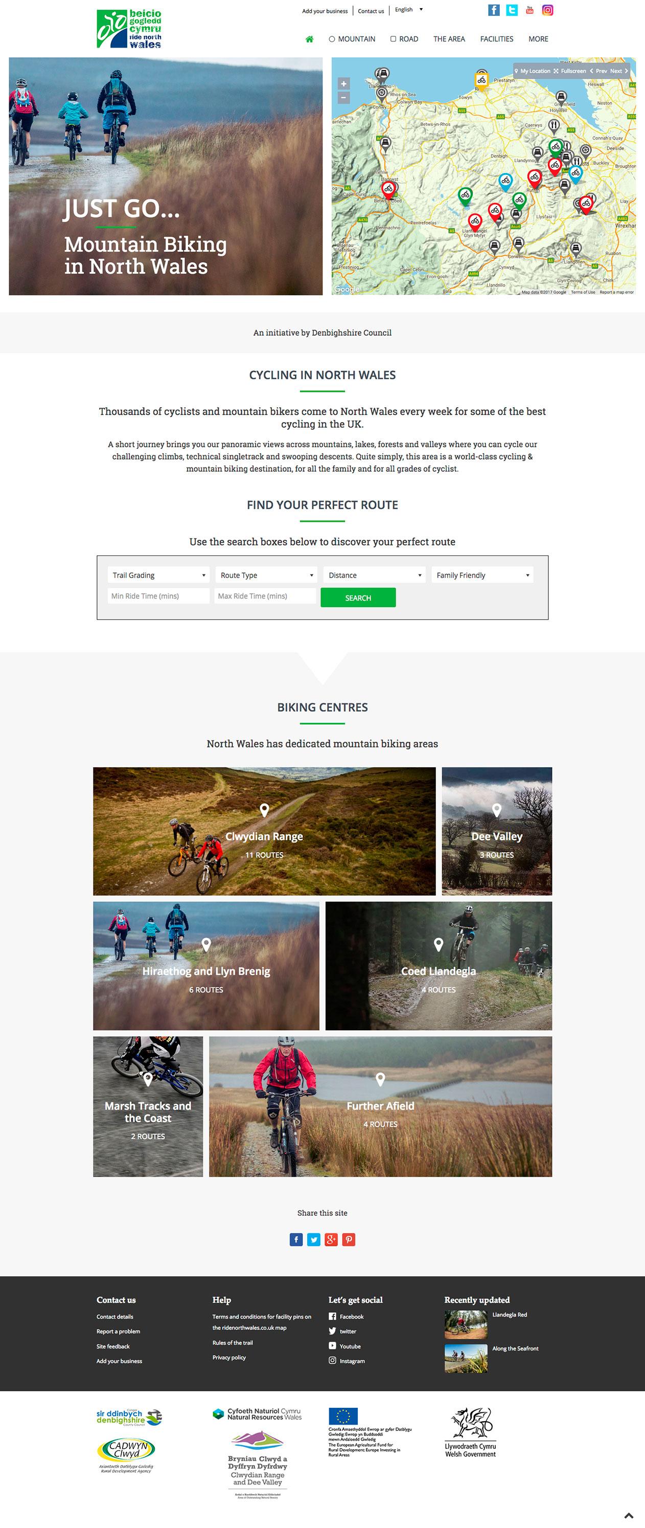 Ride North Wales screenshot