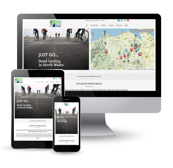 Ride North Wales website