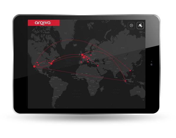 Arqiva iPad app