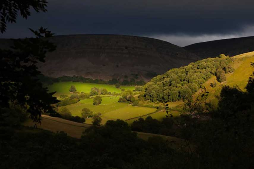 Clwydian Range and Dee Valley website banner