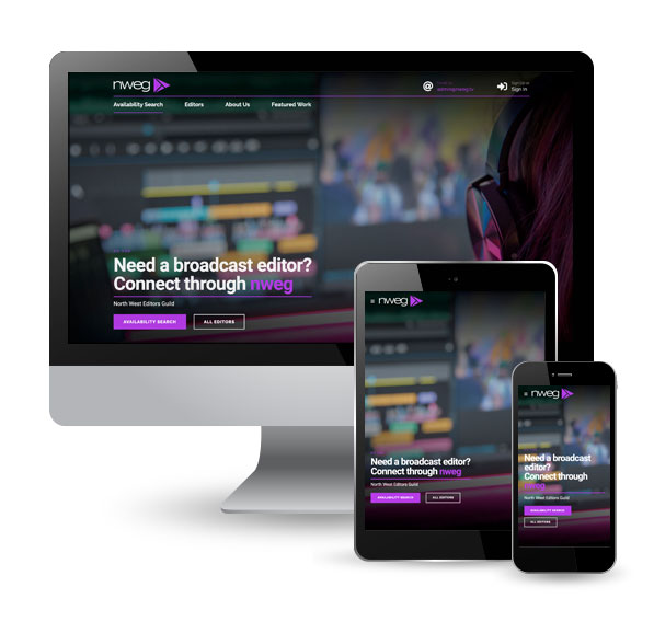 North West Editors Guild website